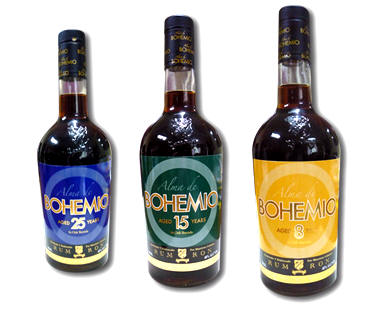 Bodegas Bohemio Bottle Labels